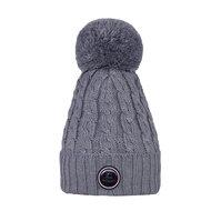 Kingsland Iroquis Ladies Knitted Hat Light Grey