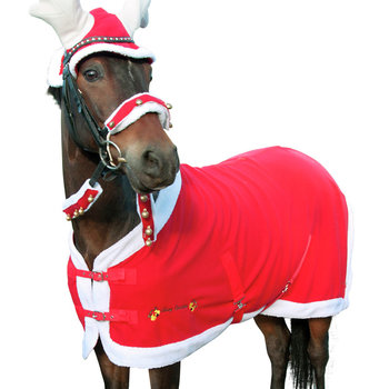 Jule fleecedekken HG