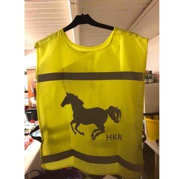 HKM refleksvest med hestemotiv