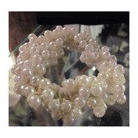 Hårstrikk med perler
